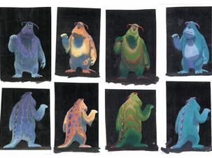 Initial Color Studies for Sullivan