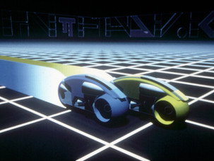 Tron: Background Painting
