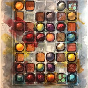 Chocolate Quilt