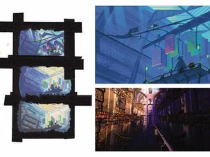 The Door Vault: Color Studies