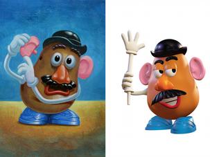 Mr. Potato Head: Color Study