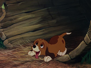 The Fox and the Hound: Background Painting