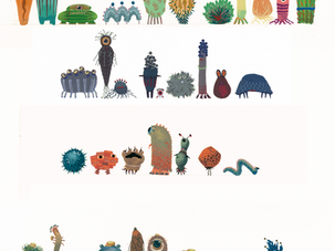 Background Monsters: Color Ideas