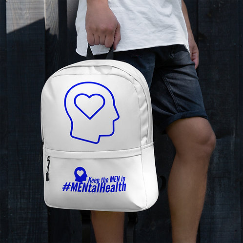 Keep the Men in Heart Head Backpack
