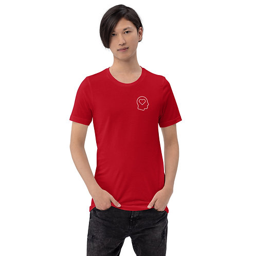 Unisex Heart Head mini T-Shirt