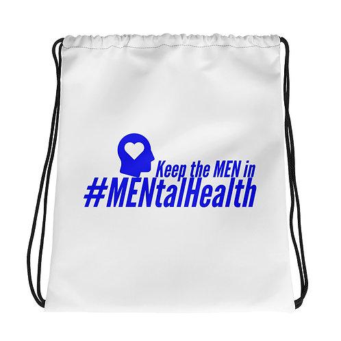 Drawstring bag -Keep the Men Heart Head