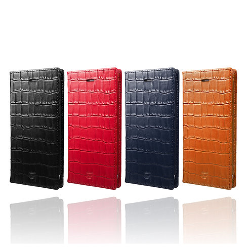 GRAMAS Croco Patterned Full Leather Case