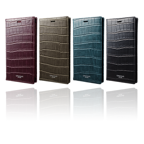 "GRAMAS COLORS ""EURO Passione Croco"" Book PU Leather Case"
