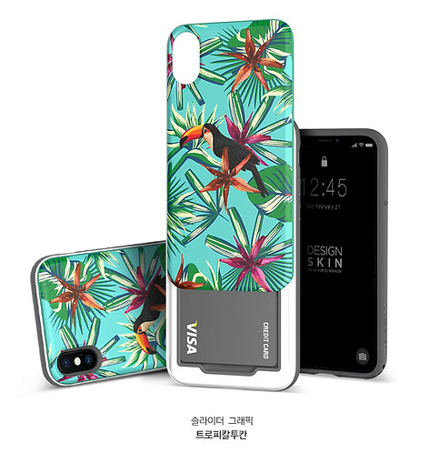 Design skins slider case for iPhone X