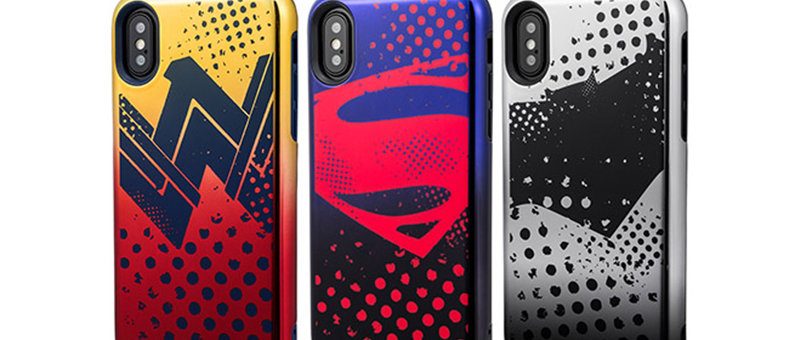 GRAMAS COLORS Hybrid Case with Justice League