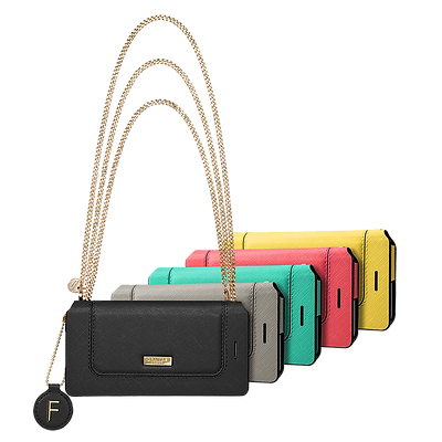 "GRAMAS FEMME ""Sac"" Bag Type Leather Case"