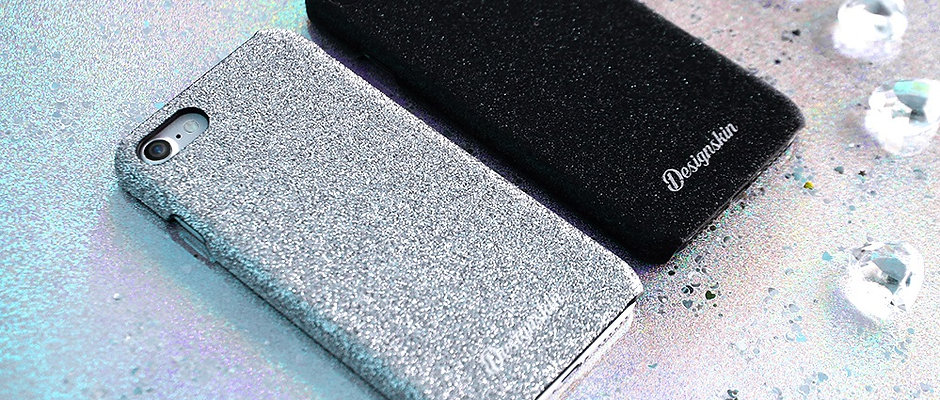 Design skins glitter bartype case for iPhone 7/8/7Plus/8Plus