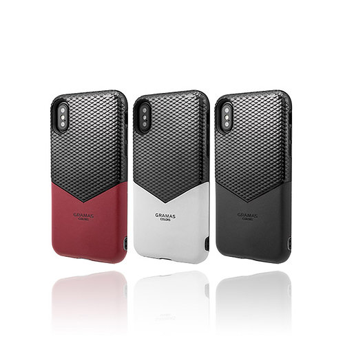 """GRAMAS COLORS """"Edge"""" Hybrid Case for iPhone X/XS/XR"""