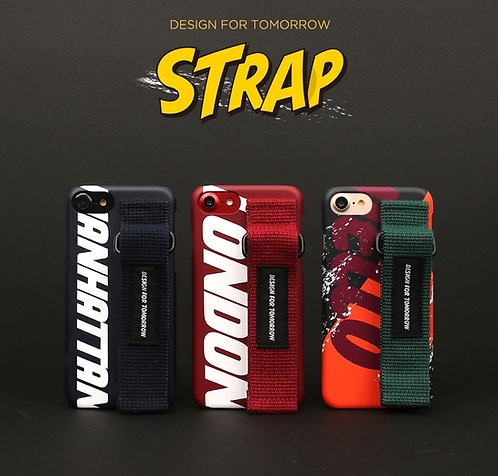 Design skins graft strap case for iPhone X