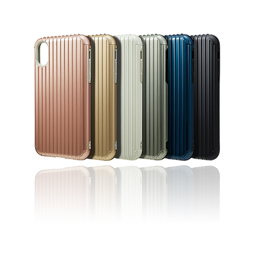 "GRAMAS COLORS ""Rib"" Hybrid case for iPhone X/XS/XR"