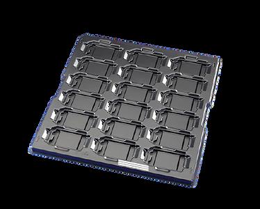 Black Material Handling Tray