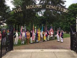 Memorial Service for the Rev. War Patriots May 26, 2016