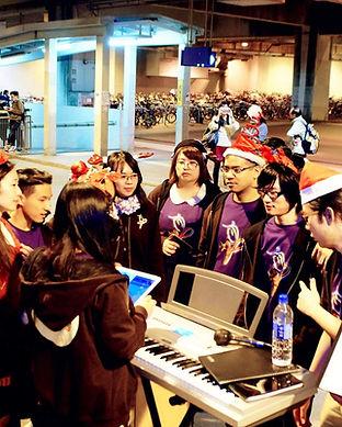 Tuen Mun West Rail Station Music Busking