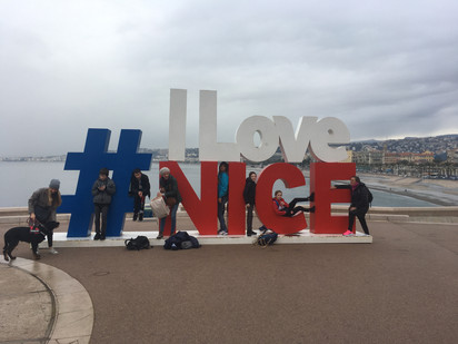 Notre sortie à Nice
