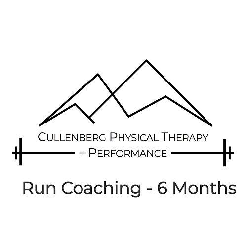 Run Coaching - 6 Months