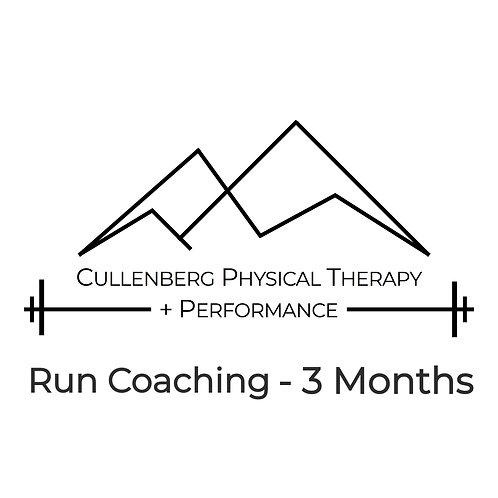 Run Coaching - 3 Months