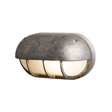 Davey Lighting Oval Aluminium Bulkhead