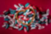 Konfektes ar logo