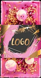 firma logoga shokolaad