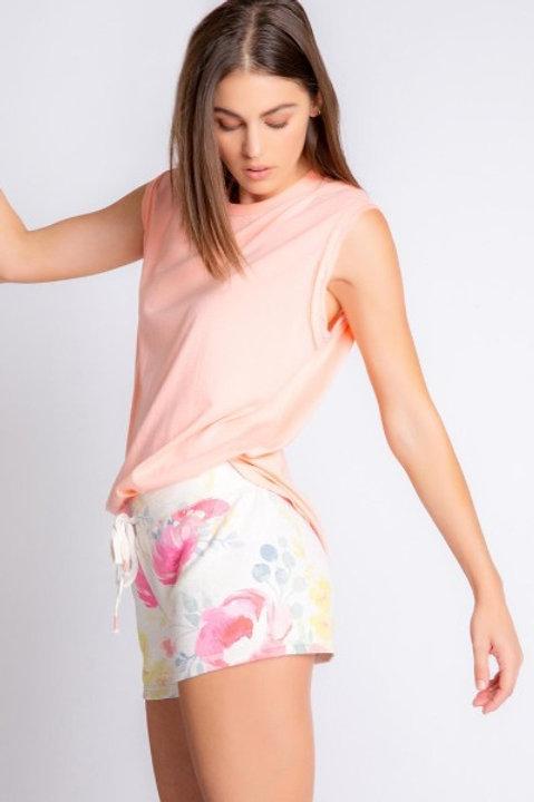 PJ Salvage Happy Blooms Shorts
