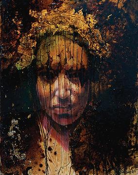 fine art portrait painting woman