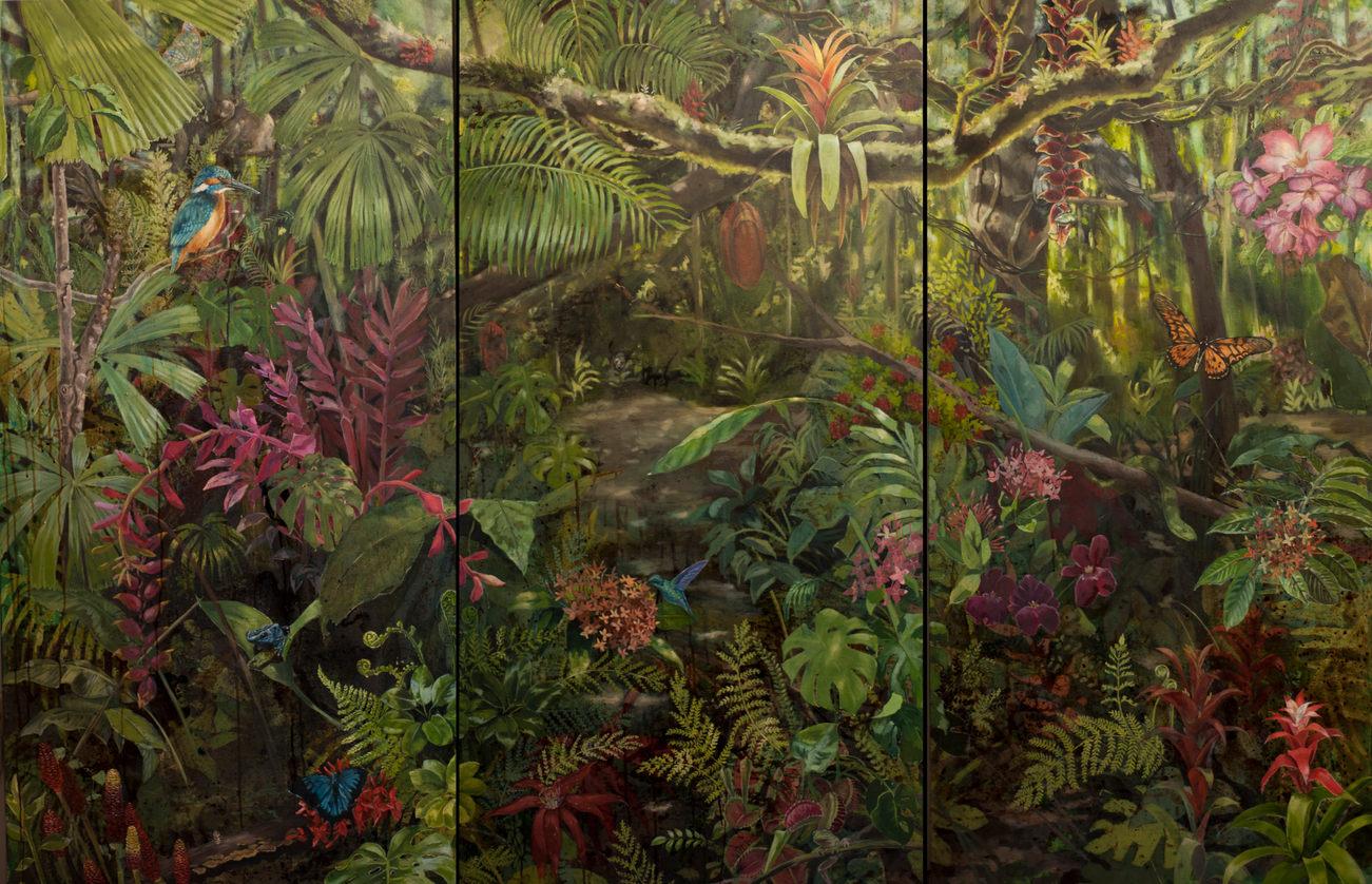 Jungle in Triplicate