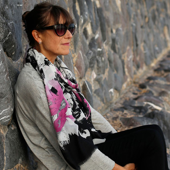 blk pink abstract scarf westbay.jpg