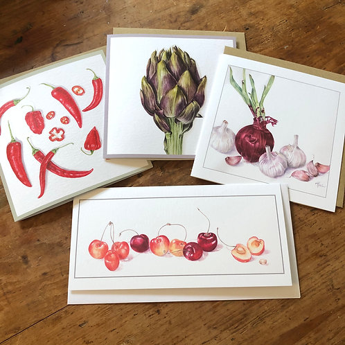 Fruit and Vegetables Card Pack