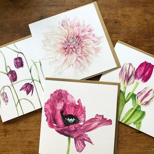 Botanical Florals Card Pack