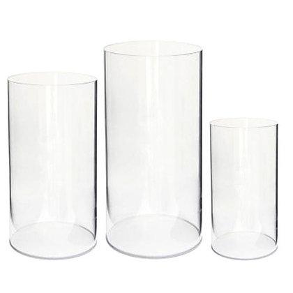 Acrylic Cylinder Pedestal