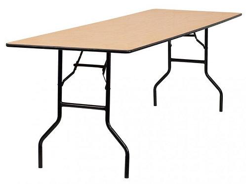 Rectangular Table| 6ft Long
