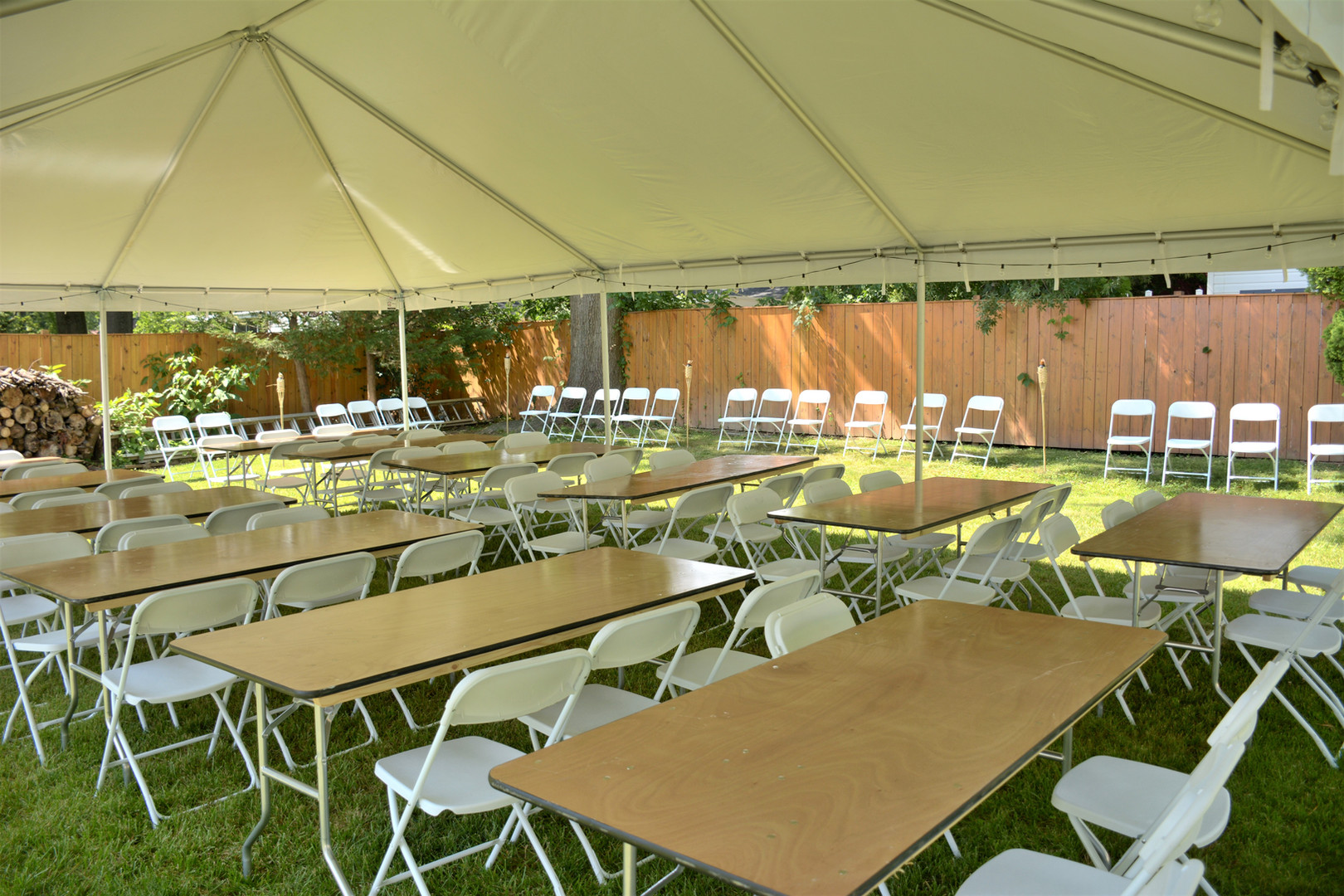 Tent & Tables and Chairs