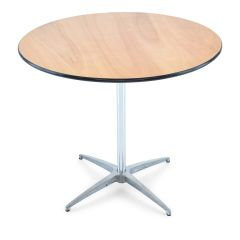 "30"" Pedestal Table"