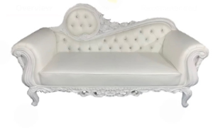 All White Sofa