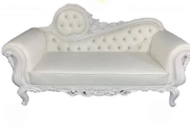All White Sofa