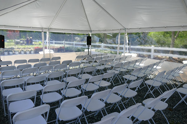 20x30 Tent Business Ceremony