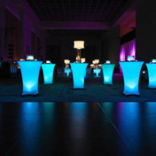 led light cocktail Tables