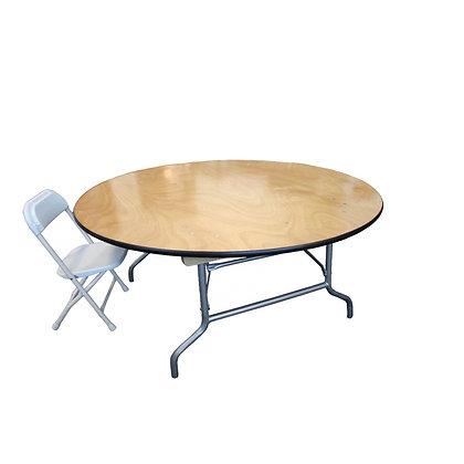 Kids Circular Table | 4ft Round