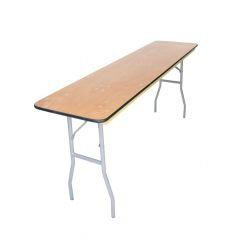 Rectangular Seminar Table | 8 ft Longs (8x18)