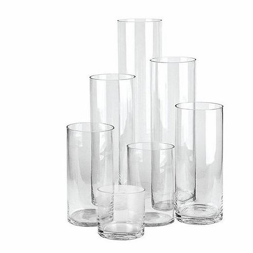 Glass Cylinder Vase | Slim