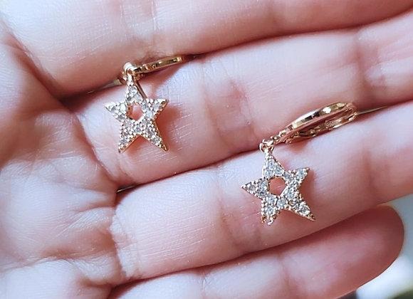 Pendiente Estrella de Acero
