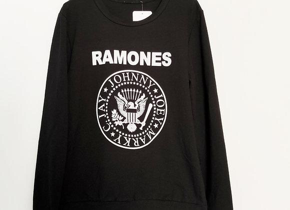 Sudadera Ramones Negra
