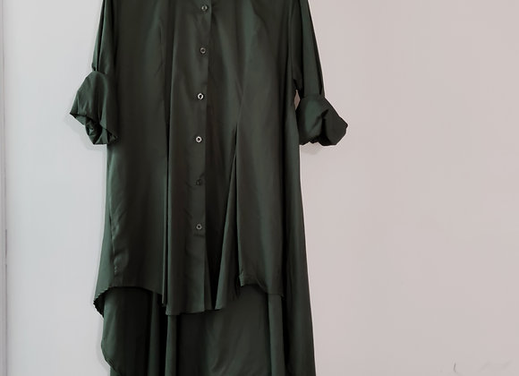Maxi Camisa Verde Militar