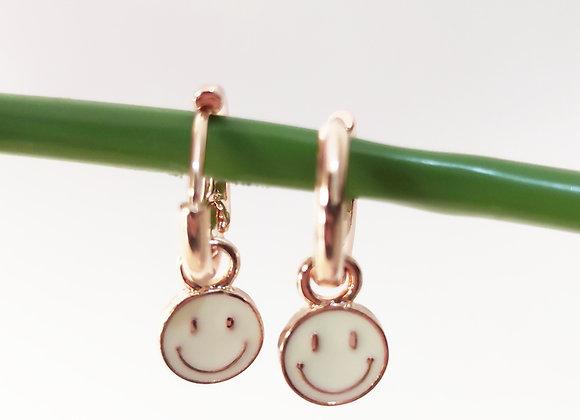 PENDIENTE SMILE BLANCOS