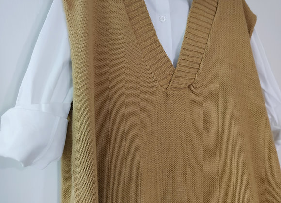 Chaleco Top Camel